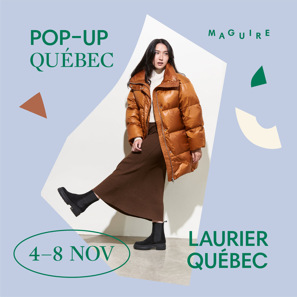 Pop-up Maguire à Québec