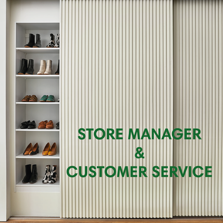 We're hiring! Store and Customer Relations Manager