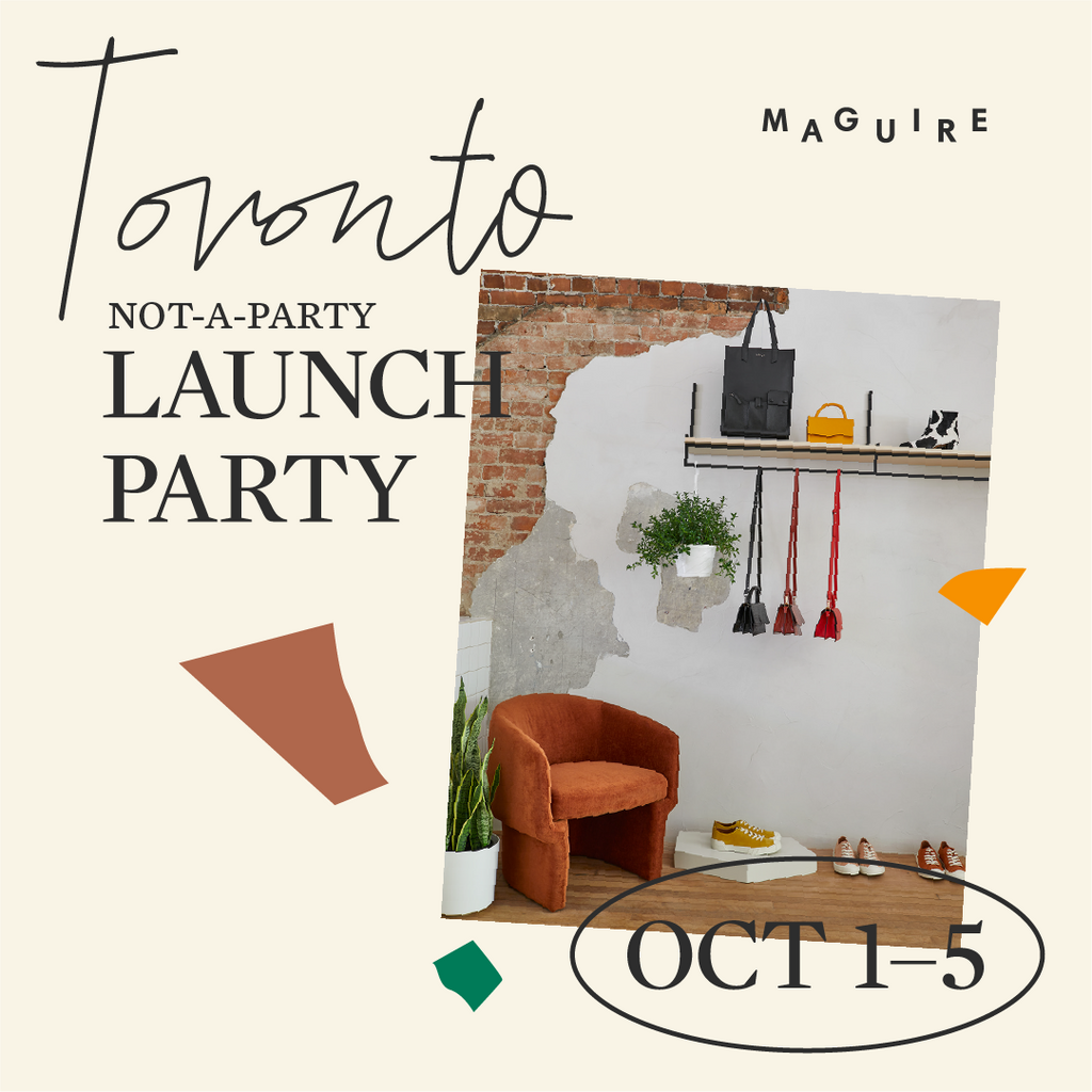 Maguire Toronto not-a-party Launch Party