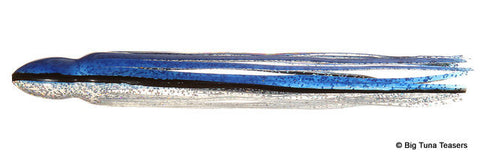 Lure Skirt Replacement - Blue Foil - BostLures