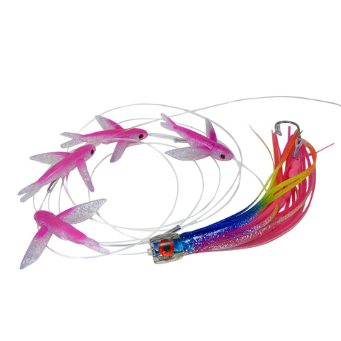 Bost 63 Pink Flying Fish Daisy Chain - BostLures