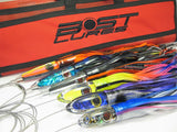 Bost Rigged Medium Wahoo Lure 6 Pack - BostLures