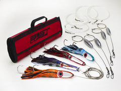 Bost Lures Mirrored Wahoo Heavy Tackle Trolling Lure Pack - BostLures