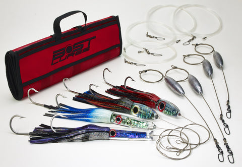 Bost Lures Wahoo Heavy Tackle Trolling Lure Pack - BostLures