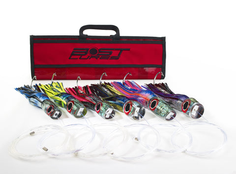 Large Marlin Lure Pack by Bost - Rigged/Un-Rigged - BostLures