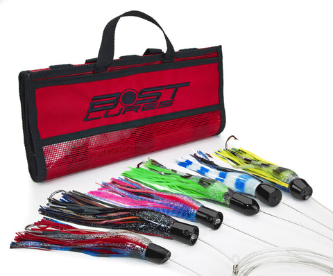 Bost Black Magic Tuna-Dolphin Rigged Trolling Lure Pack - BostLures