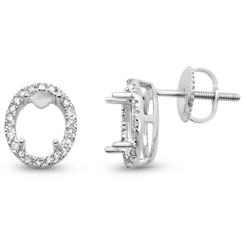 Diamond Earring Semi-Mount