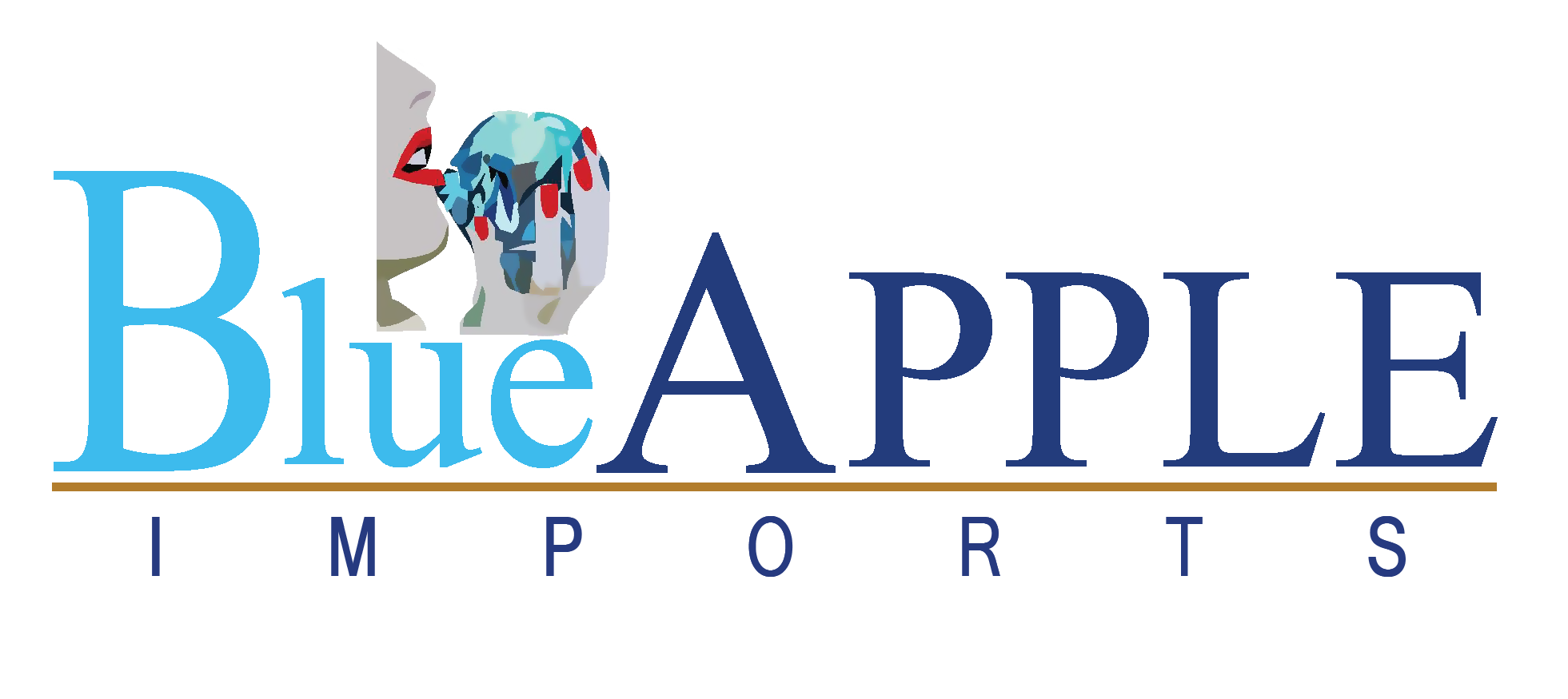 Blue Apple Imports.