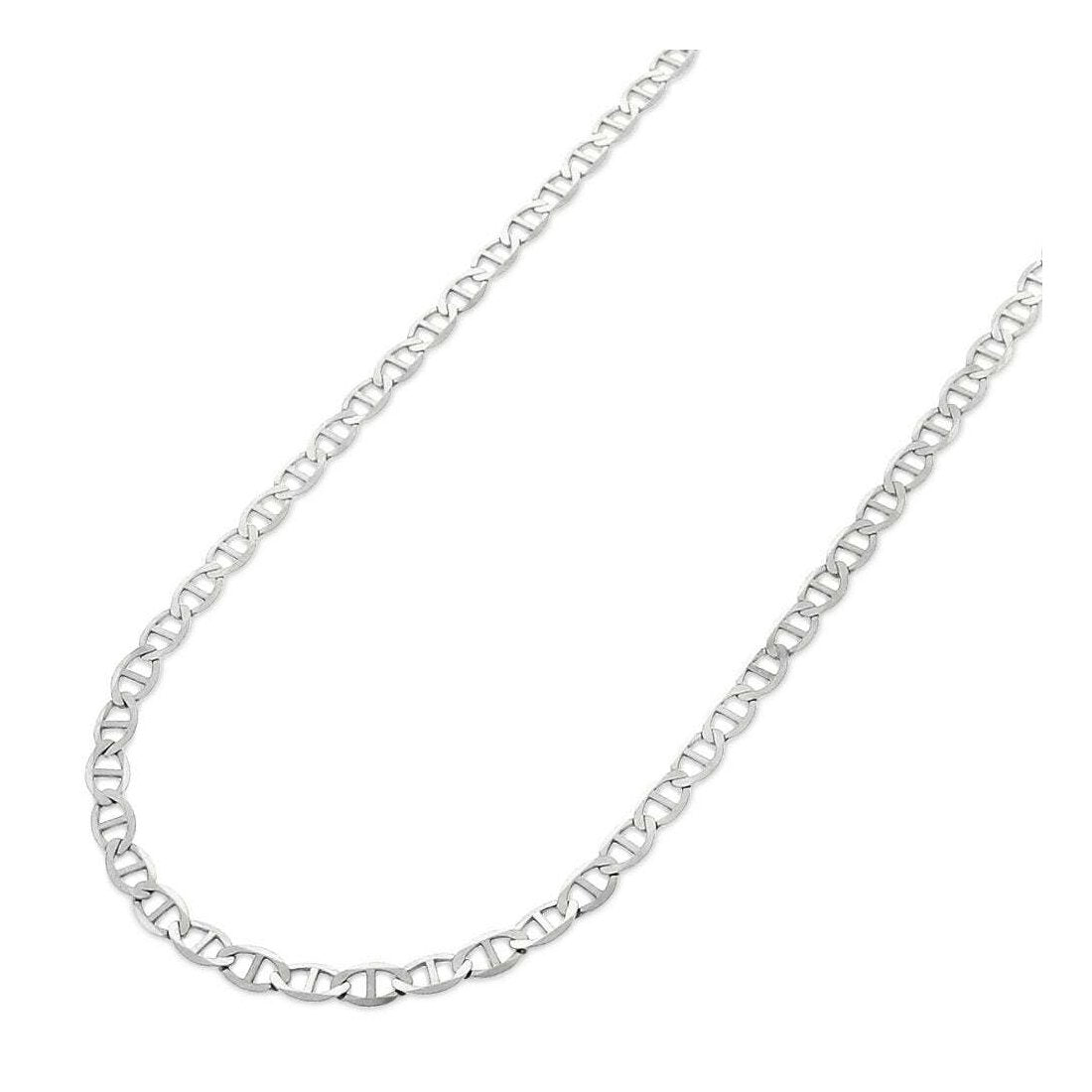 "1.5MM 040 Mariner Chain .925 Solid Sterling Silver Available In ""16-30"" Inches"