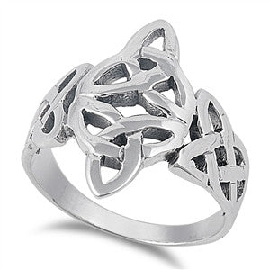 Silver Celtic Ring-$12.43
