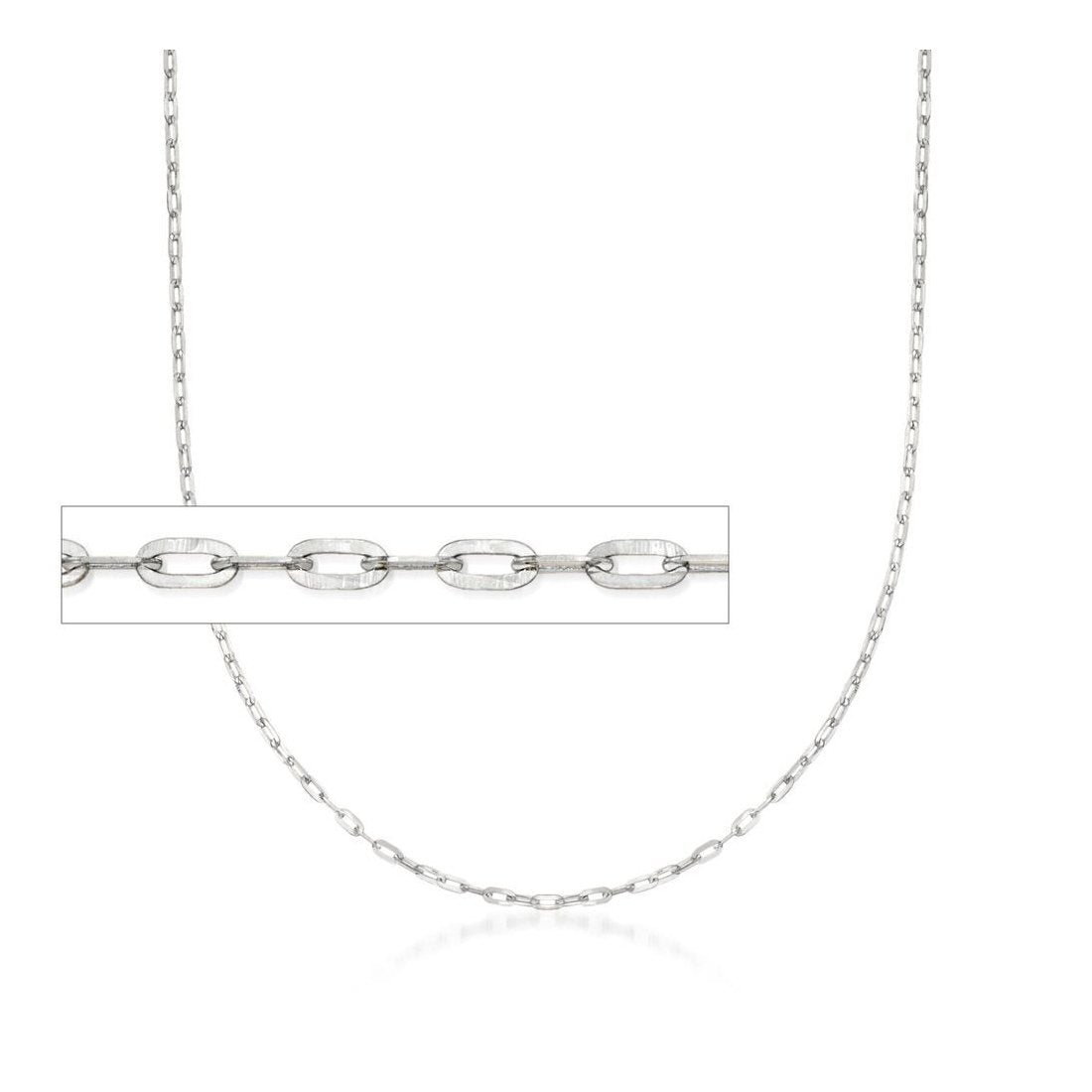 "6MM 160 Square Forzatina Chain .925 Solid Sterling Silver Sizes 8""-28"" Inches"