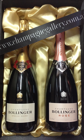 Bollinger Perfect NV Pair in Satin Gift box