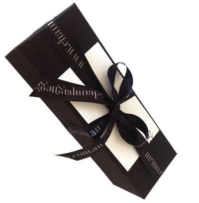 Stylish Gift Box Satin insert - Single Bottle