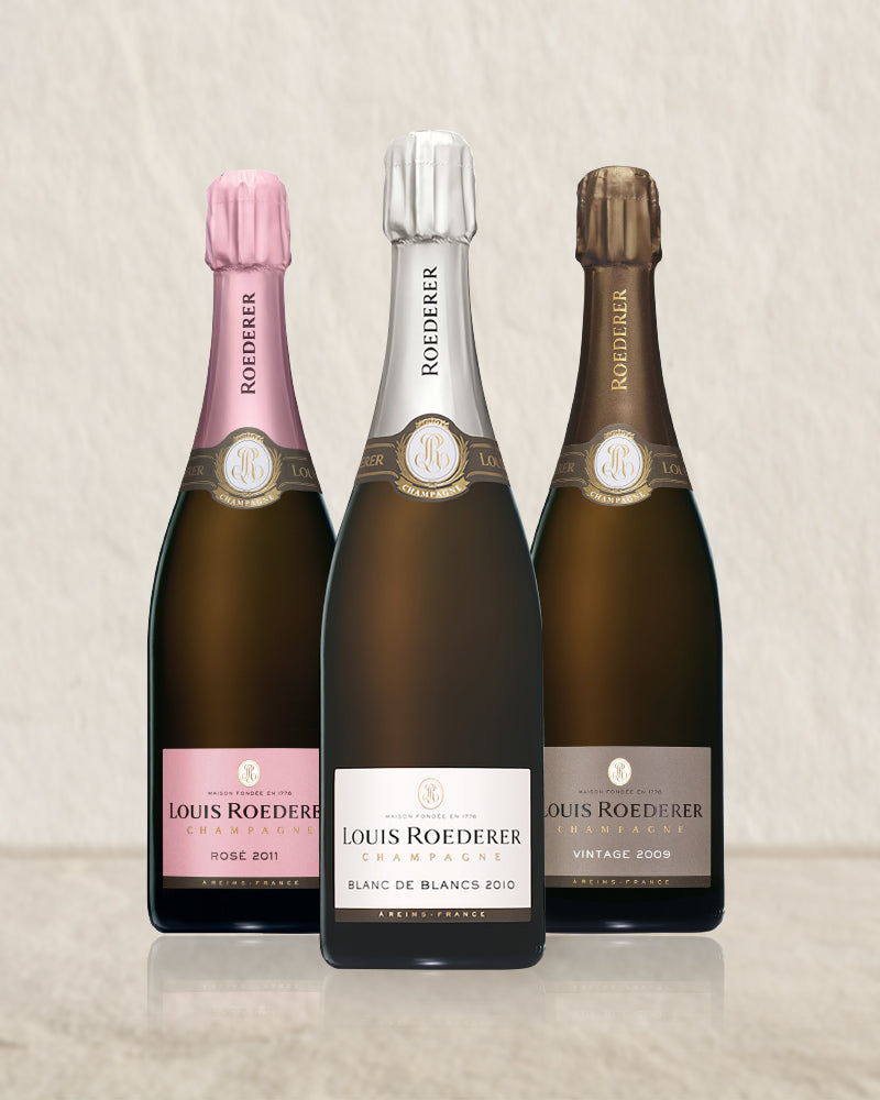 Louis Roederer Vintage Trio Selection (9-10-11)