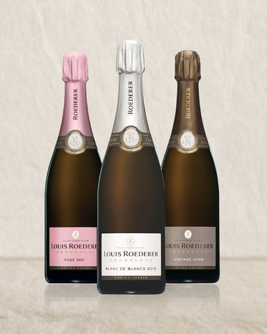 Louis Roederer Vintage Trio Selection