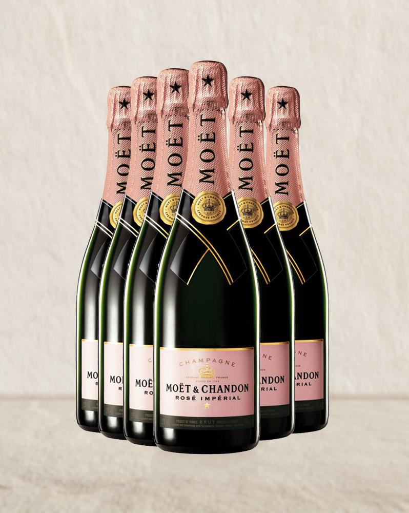 Moet & Chandon Rose Imperial NV 6 pack