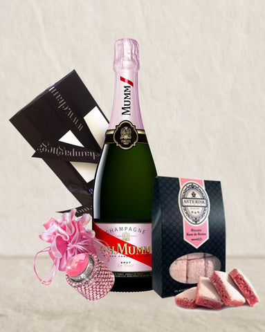 Mumm Rose NV Bling & Biscuits Pack