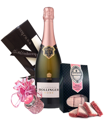 Bollinger Rose NV Bling & Biscuits Pack