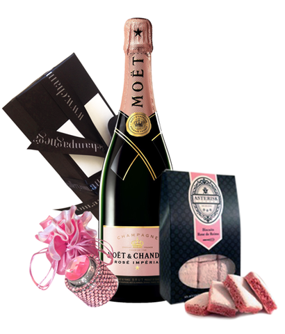 Moet Rose NV Bling & Biscuits Pack