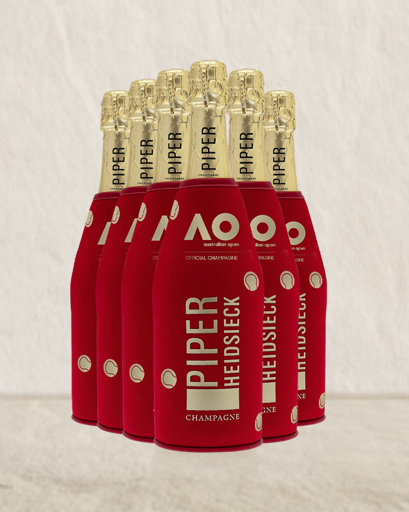 Piper Heidsieck Limited Edition Australian Open 750ml 6 Pack