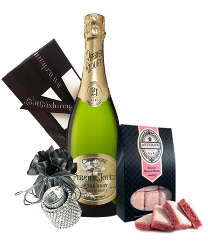 Perrier Jouet NV Bling & Biscuits Pack
