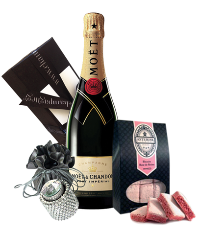 Moet NV Bling & Biscuits Pack
