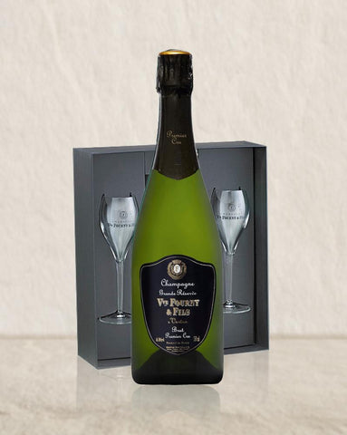 Veuve Fourny Grand Reserve NV 2 Flute Gift Set