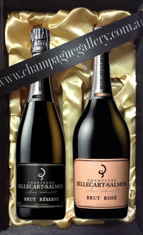 Billecart Perfect NV Pair in Satin Gift Box