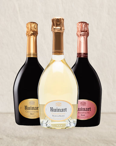 Ruinart Trio Collection 3pack