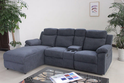 CHARLES GREY SECTIONAL SOFA