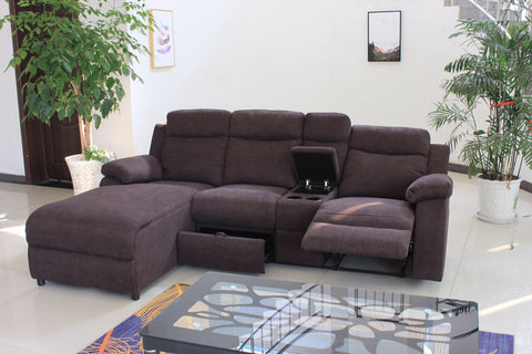 CHARLES BROWN SECTIONAL SOFA