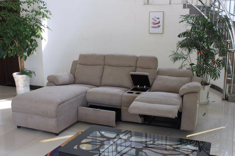 CHARLES BEIGE SECTIONAL SOFA