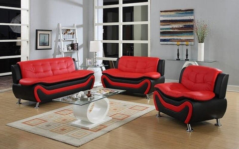 ARLENE RED SOFA COLLECTION