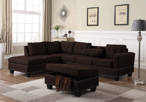 ZACHARY SECTIONAL SOFA