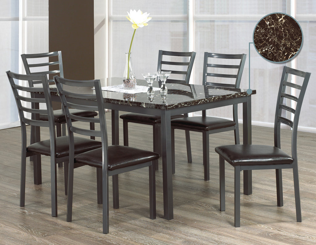 marbalo 6 chair dining set bedsforless rh bedsforless ca 6 chair outdoor dining set 6 chair dining set wood with takeaway