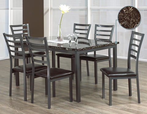 MARBALO 6 CHAIR DINING SET