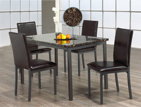 CLAIR MARBAL DINING SET