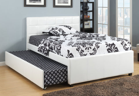 ETHAN WHITE TRUNDLE BED
