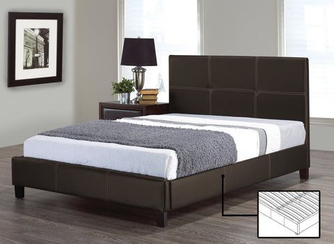 FELIX BROWN PLATFORM BED