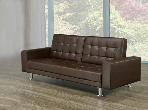 DELANEY BROWN SOFA BED