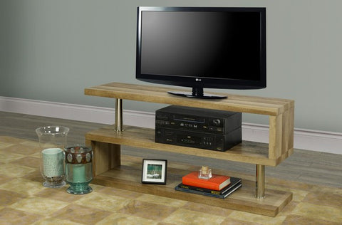 THE 'Z' WOODEN TV STAND
