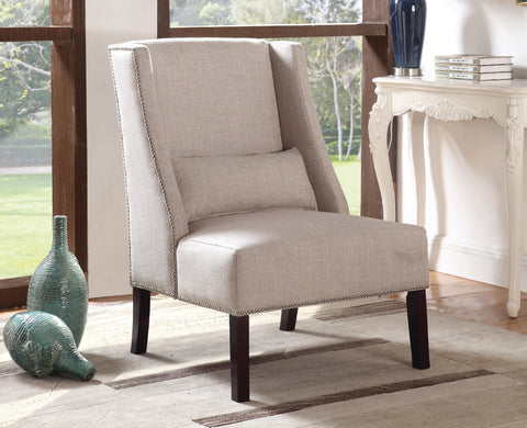 ALYSSA BEIGE ACCENT CHAIR
