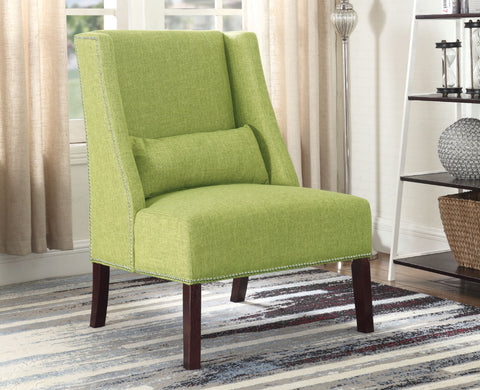 ALYSSA GREEN ACCENT CHAIR