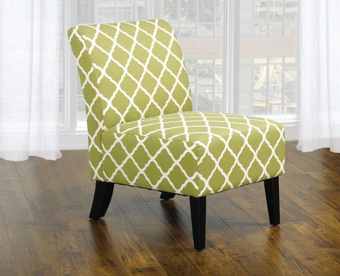CLAIRE GREEN ACCENT CHAIR