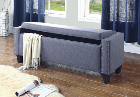 DARLENE DARK STORAGE BENCH