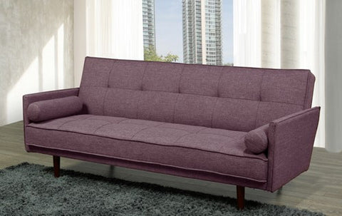 MALROY PURPLE SOFA BED