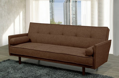 MALROY BROWN SOFA BED