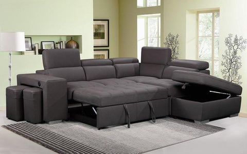 JOANNA DARK SECTIONAL SOFA