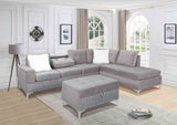 DAHLIA GREY SECTIONAL SOFA