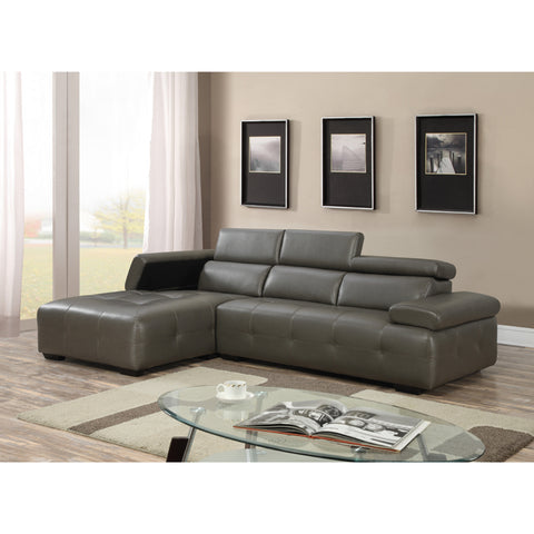 OSCAR GREY SECTIONAL SOFA